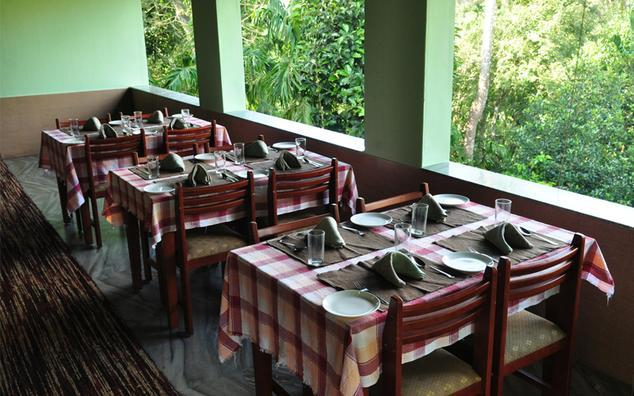 Dining in Emerald Crescent Residency