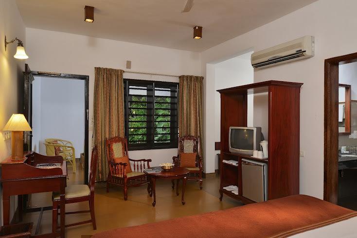 guest room2 in Estuary Island Resort Poovar