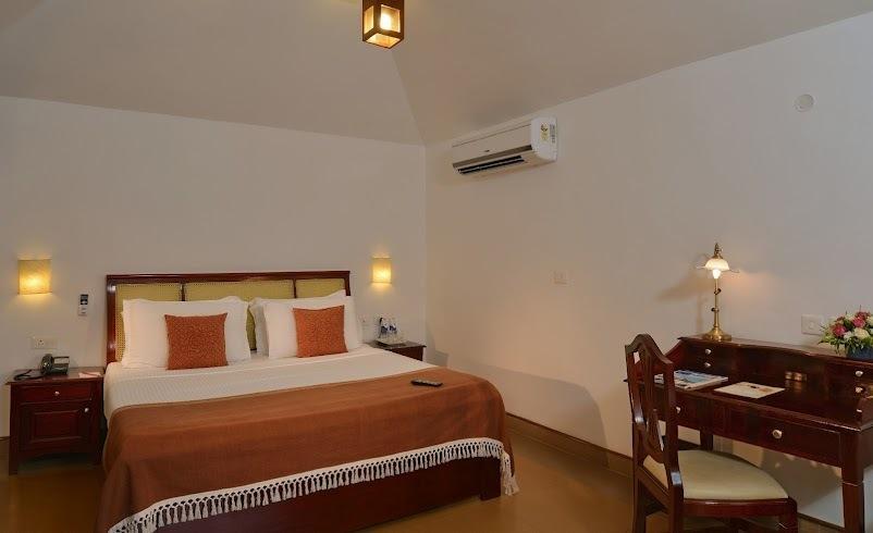 Estuary View Rooms in Estuary Island Resort Poovar