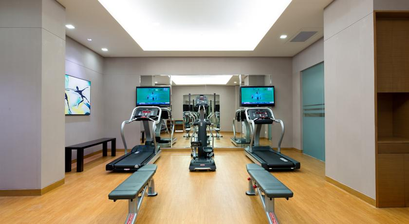 Gym in Hotel Fairfield By Marriott Bangalore