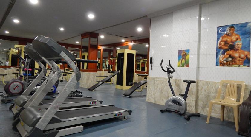 Gym in Femina Hotel In Trichy