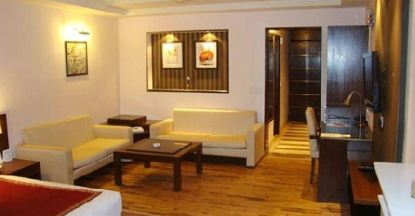 guest room in Hotel Flag House Resort Shimla