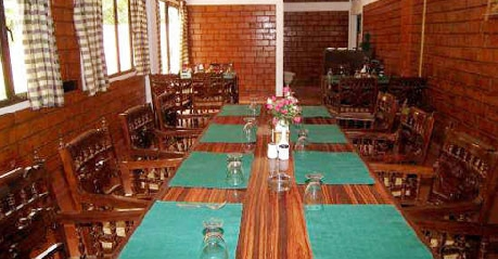 Dining in Forest Haven Resort Munnar