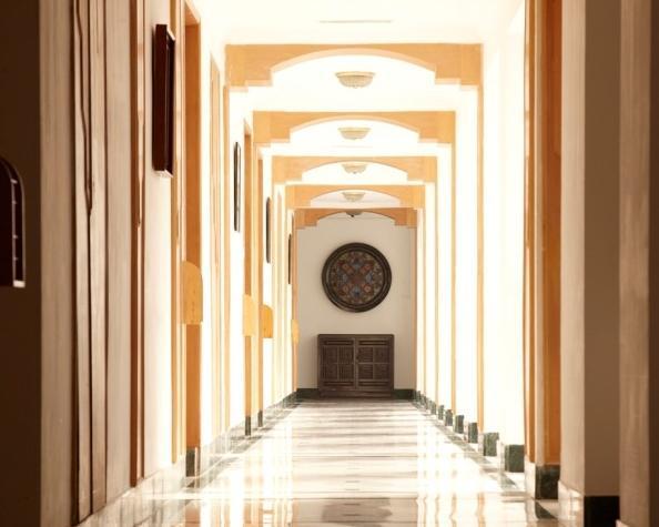 corridor in Hotel Vivanta By Taj-Fort Aguada
