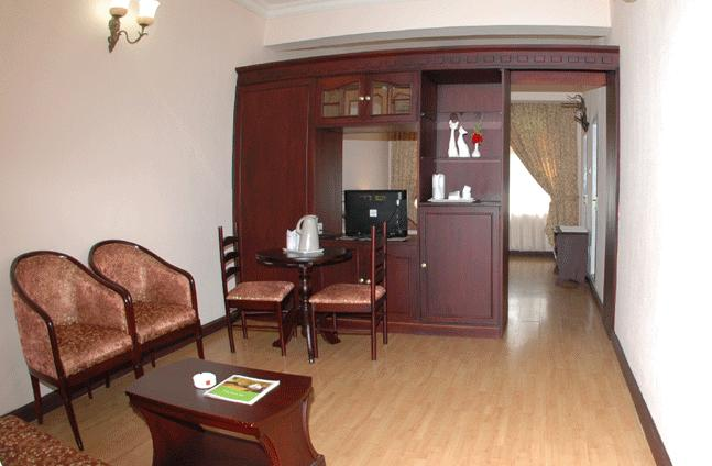 guest room in Hotel Fort Munnar
