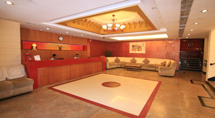 Reception in Fortune Hotel Kozhikode