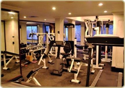 Gym in Fortune Hotel Kozhikode