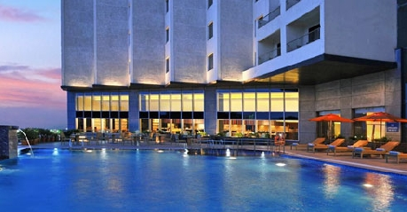 Luxury Pool in Four Points By Sheraton Visakhapatnam