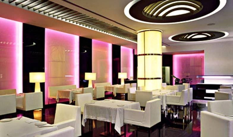 Dining in Galaxy Hotel