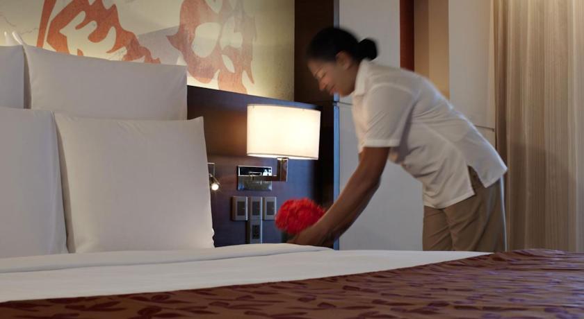 Bedroom in Goa Marriott Resort And Spa