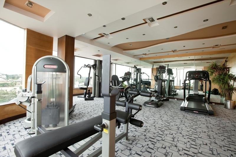 Gym in Hotel Goldfinch Hotel Bangalore