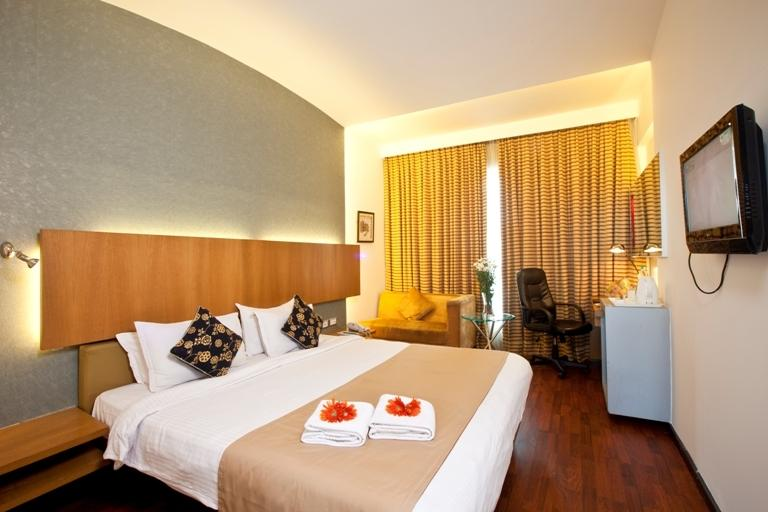 Superior Rooms in Hotel Goldfinch Mangalore