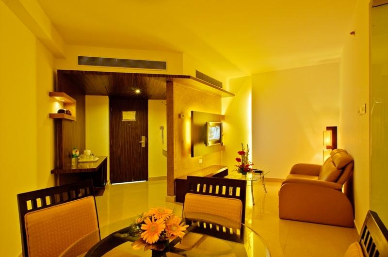 Suite in Hotel Goldfinch Mangalore