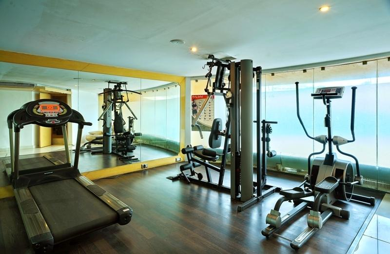 Gym in Hotel Goldfinch Mangalore