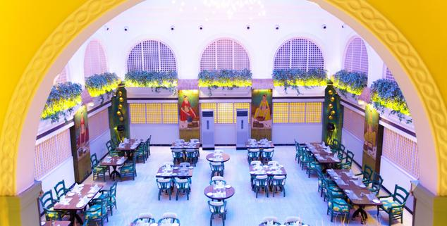 Dining in Gordon House Pune