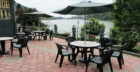 Dining pool in Grand Hotel Nainital