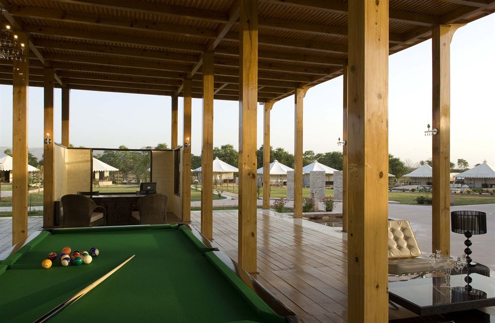Pool Table in Green House Resort Pushkar