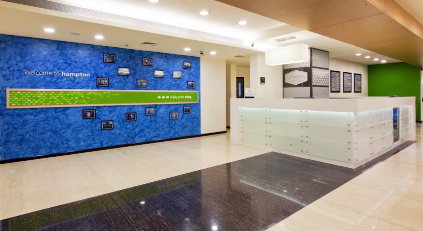 Reception in Hampton By Hilton Vadodara Alkapuri