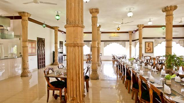 Dining in Heritage Resorts, Udaipur
