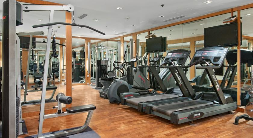 Gym in Hilton Mumbai International Airport