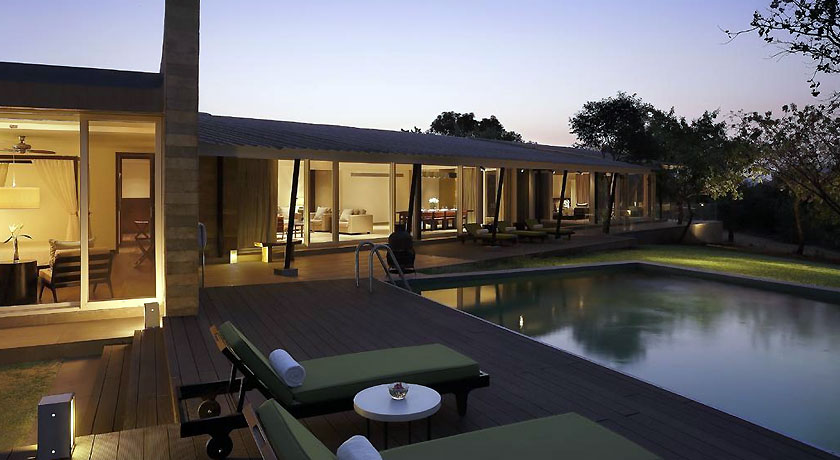 Luxury Pool in Hilton Shillim Estate Retreat & Spa Pune