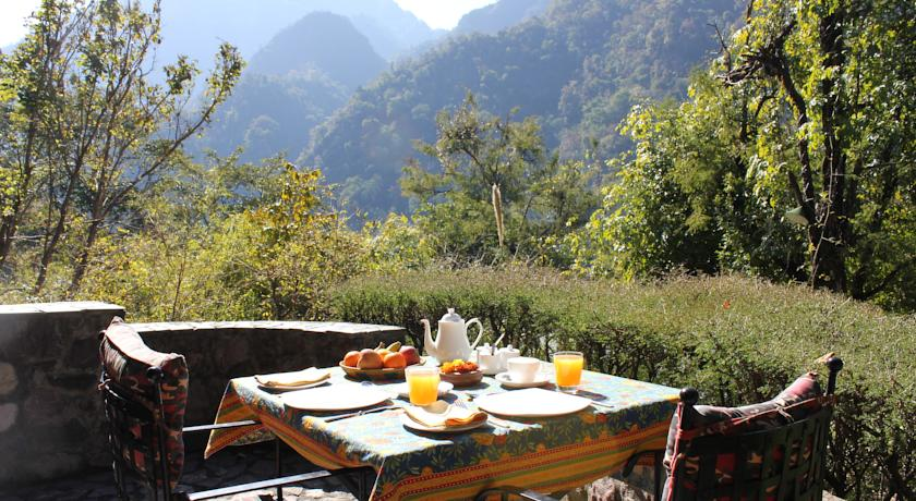 Tea Dining in Tree Of Life Himalayan Hideaway Lodge