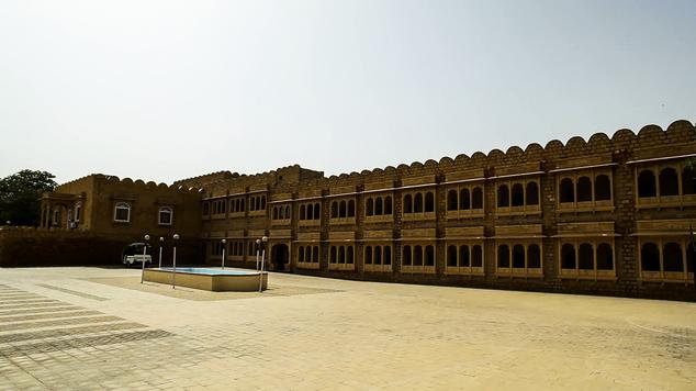 Resort in Himmatgarh Palace