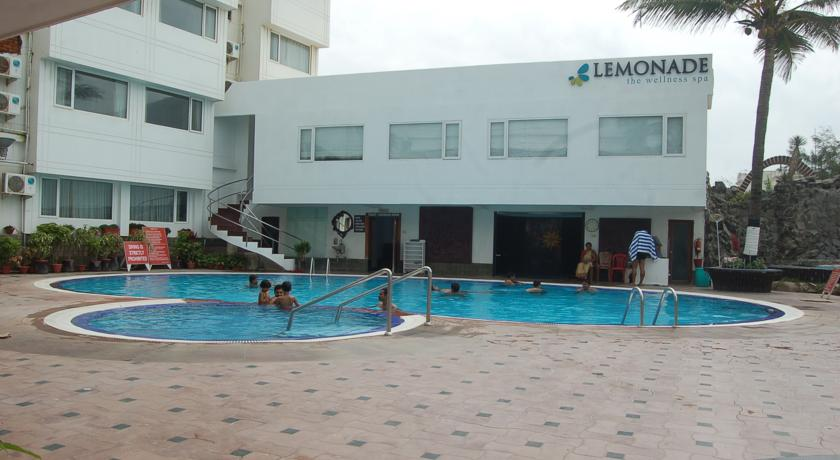 Swimming in Holiday Resort