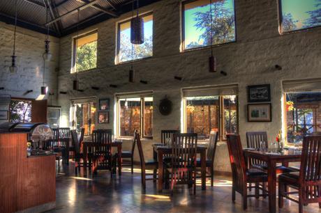 Dining in Hotel Aamod, Shimla