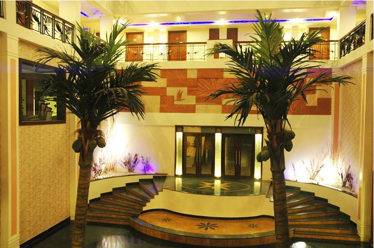 Reception in Hotel Aananda Imperial