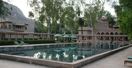 Pool in Amanbagh Resort