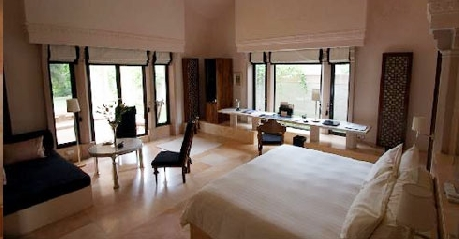 Garden Haveli Suite in Amanbagh Resort