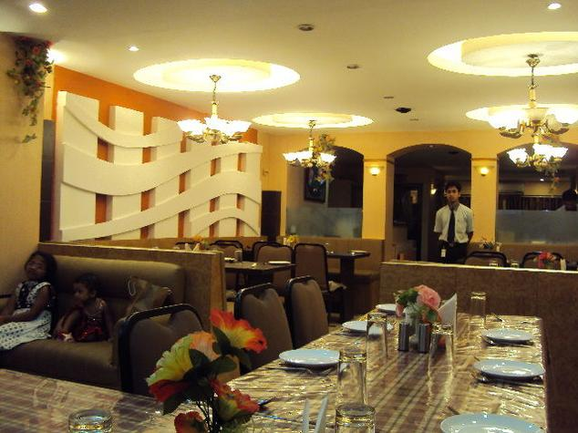 Dining in Hotel Aparupa, Port Blair