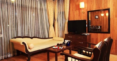 Suite in The Ashok Beach Resort