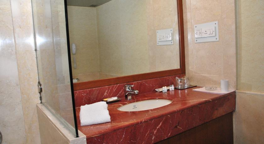 Bathroom in Hotel Aurora Towers