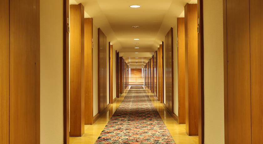 corridor in Hotel Aurora Towers