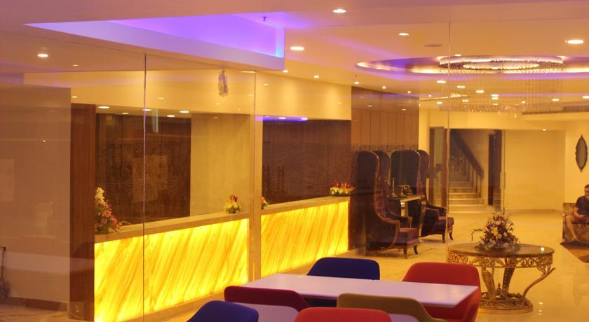 Reception2 in Hotel Best Western Ashoka