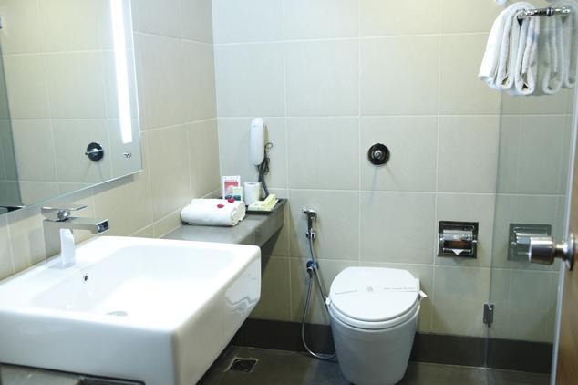 Bathroom in Hotel Bliss