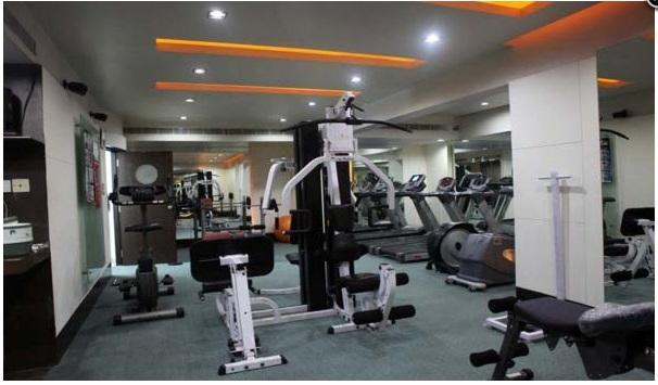 Gym in Hotel Bliss
