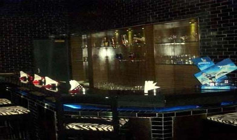 Bar in Hotel Brahmaputra Ashok