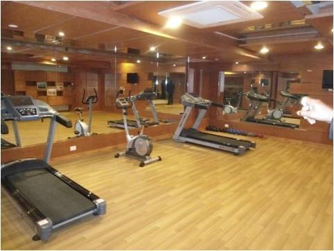 Gym in Hotel Cambay Sapphire Neemrana