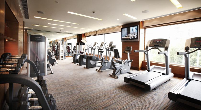 Gym in Hotel Crowne Plaza, Gurgaon
