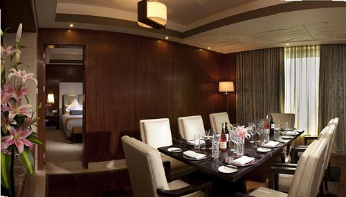 Dining in Hotel Crowne Plaza Okhla New Delhi