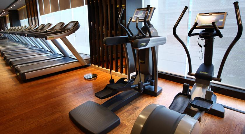 Gym in Hotel Crowne Plaza Rohini New Delhi