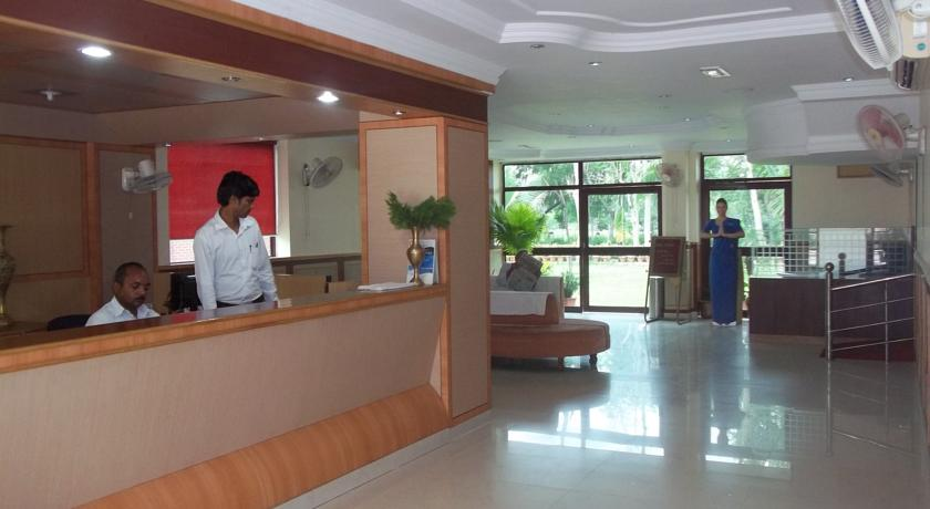 Reception in Hotel Delta International