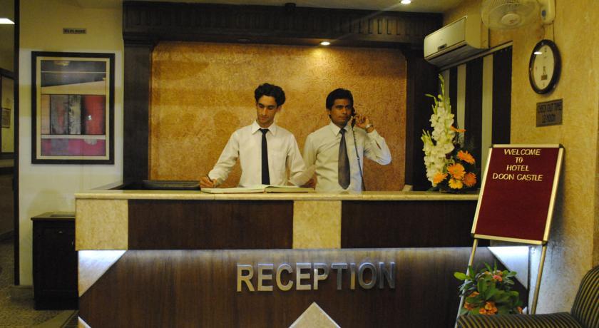 Reception in Hotel Doon Castle, Dehradun