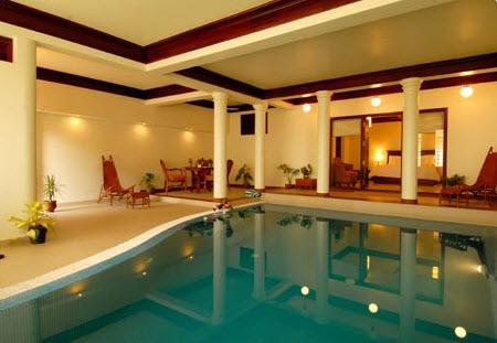 Swimming2 in Hotel Elephant Court Periyar