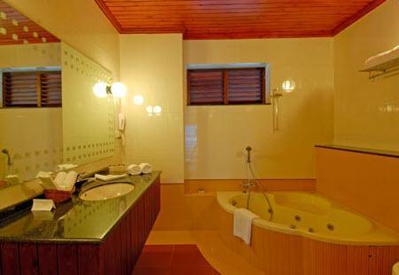 Hot Tub in Hotel Elephant Court Periyar