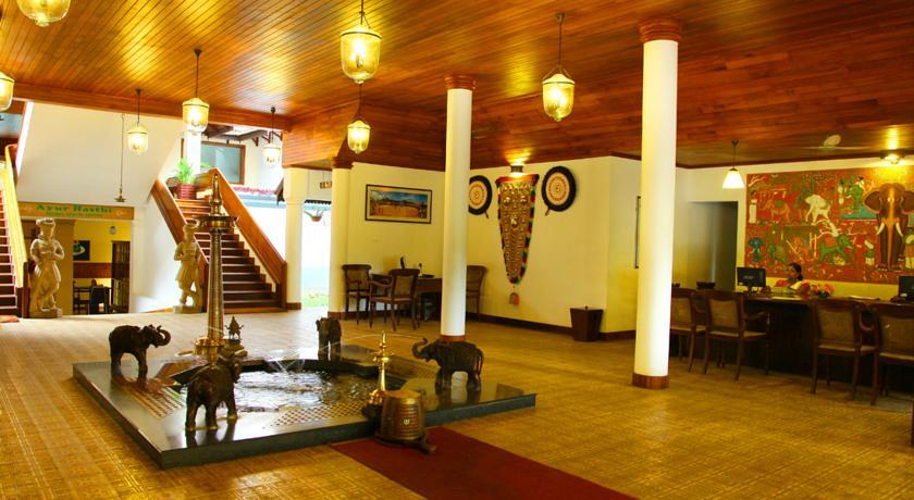 Reception2 in Hotel Elephant Court Periyar