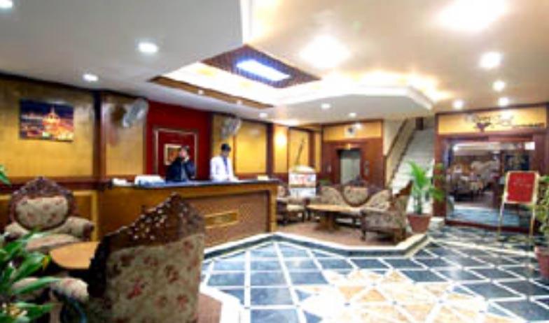 Reception in Hotel Embassy Ajmer